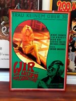 RIOT ON SUNSET STRIP 1967 PSYCHEDELIC COUNTERCULTURE A1 POSTER SEXY MIMSY FARMER