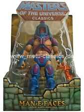 MAN E FACES ERSTAUFLAGE  MOTU Masters of the Universe Classics NEU & OVP RARMOC