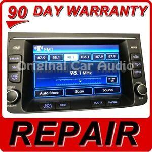 Repair YOUR 2009 - 2014 Hyundai Genesis OEM Navigation Display Screen Replacemen