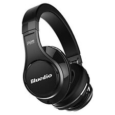 Bluedio UFO Bluetooth 4.1 Wireless Headphones Headsets 8 Sound Tracks Black