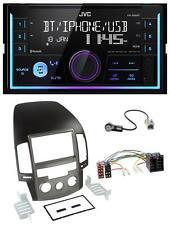 JVC AUX 2DIN USB MP3 Bluetooth Autoradio für Hyundai i30 (ab 08)