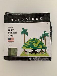 Nanoblock Sites to See: Giant Banyan Tree USA - New But Box Slightly Damaged