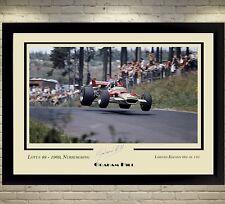 Graham Hill Ayrton Senna Nigel Mansell Firmato Autografo cimeli una formula 1