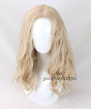 Thor Wig Men's Curly Ash Blonde Movie Cosplay Wig +a wig cap