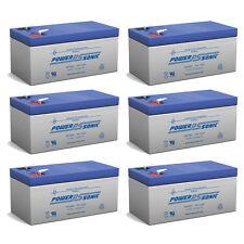 Power-Sonic PS-1230 12V 3AH SLA Battery for Vector VEC138C Spotlight - 6 Pack