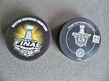2017 NASHVILLE PREDATORS Western Conference Champions Playoff Hockey Puck