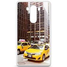 Coque housse étui tpu gel motif ny taxi LG G3 d830