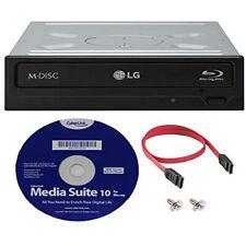 LG WH16NS40K 16X Blu-ray BDXL M-DISC DVD CD Writer Drive +FREE S/W + SATA cable