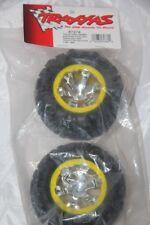 TRAXXAS - Roues montées CANYON AT 98  mm - 1/16 jaune noir - 7276