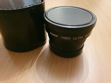 BOWER Video Ultra Macro Wide 0.6X Lens 55mm - With hard case Made in Japan
