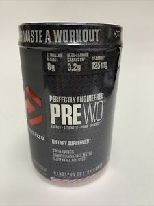 Dymatize Perfectly Engineered PRE W.O. Handspun Cotton Candy - 20 Servings