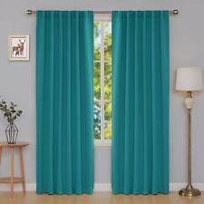 *NEW* Thermal Insulated Blackout Curtain - Turquoise - 52x108 - Two Panels