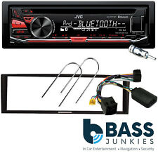 Renault Megane II 2005-2008 JVC Bluetooth USB CD MP3 AUX SWC Car Stereo Kit