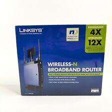 LINKSYS Wireless-N Broadband Router WRT300N - Rangemark 4X - Speedmark 12X - NEW