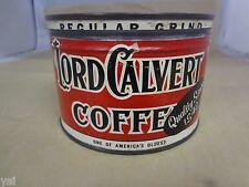 VINTAGE ADVERTISING LORD CALVERT VINTAGE COFFEE COLLECTIBLE  894-W