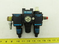 "Wilkerson R08-02-F0G0 1/4"" NPT Compressed Air Filter Regulator Lubrication FRL"