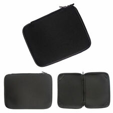 """Pure Black  Soft Bag 9"""" 10"""" 10.1"""" Netbook Laptop Sleeve Case Cover For 10'' PC"""