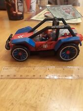 Rare 2009 Jada Toys MARVEL SUPERHERO SQUAD SPIDERMAN Web Crawler Jeep