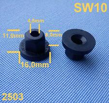 (2503) 20x in plastica madre clip Supporto di fissaggio Dadi Nero per MB, BMW