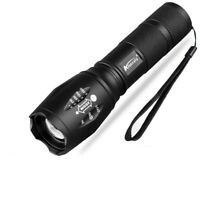 8000 LM 5 Modes T6 LED 18650 Flashlight Zoomable Focus Torch Lamp