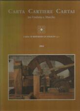 Calendario artistico 2004 : Carta, cartiere, cartai tra Umbria e Marche