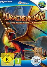 DRACHENKIND * DAS VERGESSENE VERMÄCHTNIS *  WIMMELBILD-SPIEL  PC DVD-ROM