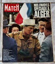 PARIS-MATCH 1962 GUERRE ALGERIE FARES ALGER RUE ISLY BOXE LIZ TAYLOR BURTON