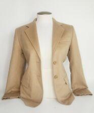 Max Mara Beige Nude 100% Camel Hair Blazer Coat Size 2 Work Wear Career