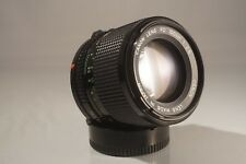 CANON FD 100 mm f 2.8 GORGEOUS PORTRAIT LENS, WITH CASE AND SONY E ADAPTER