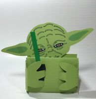 Birthday Handmade Gift Card Holders - Star Wars Yoda with Lightsaber