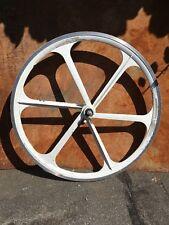 """Aerospoke Wheel white 26"""" front"""