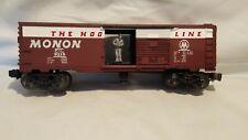 Lionel Modern 6-9218 Monon Mailman Operating Boxcar C-8 LN Super Clean