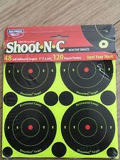 Lot de 5 Shoot N C réactive cible autocollante 3 in (environ 7.62 cm) Target & réparation Plâtres