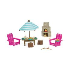 LIL woodzeez BBQ Outdoor patio set  NIP   FREE SHIPPING *Calico Critters*