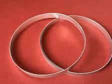 1 paia alluminio anelli ornamentali Grundig SFERA BOX Audiorama 4000 & 5000