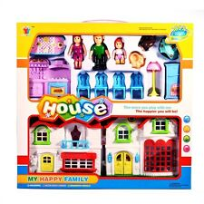 Castle Doll House Play Set Girls Princess Creative Toy Pretend Kids Xmas Gift 3+