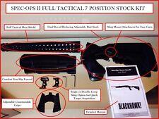 7 Position SPEC OPS Stock Heat Shield Mossberg 500 590 Shotgun Butt Stock Forend