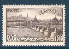 TIMBRE N° 450 NEUF ** GOMME ORIGINALE - PONT DE LA GUILLOTIERE A LYON