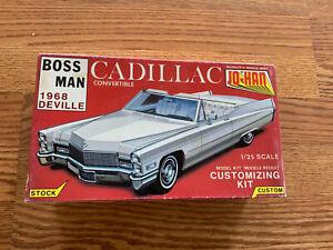 JoHan 1968 Cadillac Deville Convertible Boss Man 1/25 model kit
