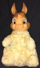 Vintage Ideal Toy Company - Stuffed Bunny Rabbit