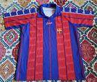 Vintage Bootleg Barcelona Barca Football Club Short Sleeve Shirt