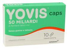 YOVIS CAPS 50 MILIARDI FERMENTI LATTICI VIVI 10 CAPSULE