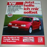 Reparaturanleitung VW Golf 4 IV Bora Variant Allrad Benzin Diesel ab 09/1997 NEU