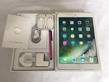 Apple iPad mini 2 128GB, Wi-Fi+ Cellular (4G/3G) Unlocked, 9.7in - Silver+Bundle