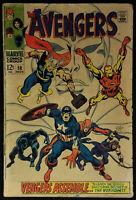 Avengers #58 VG 4.0 Origin & 2nd app Vision 1968 - Tear lower left corner