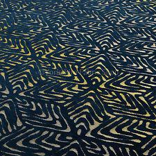 10 Metros De Oro Azul Brillante 3D Cuadros Cubitos Patrón Geométrico