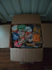 More details for 100's of vintage beer mats job lot in box. box size 16