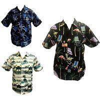 New Big Mens Big Tall Plus Size Hawaiian Shirt King Size Top 3XL-6XL 100%COTTON