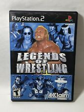 Legends of Wrestling Video Game PS2 Sony PlayStation 2 Hulk WWE - Disc Flawless