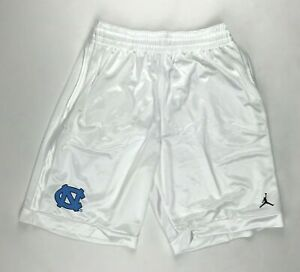 Nike Jordan Men's M UNC North Carolina Tar Heels Basketball White Short AR4315